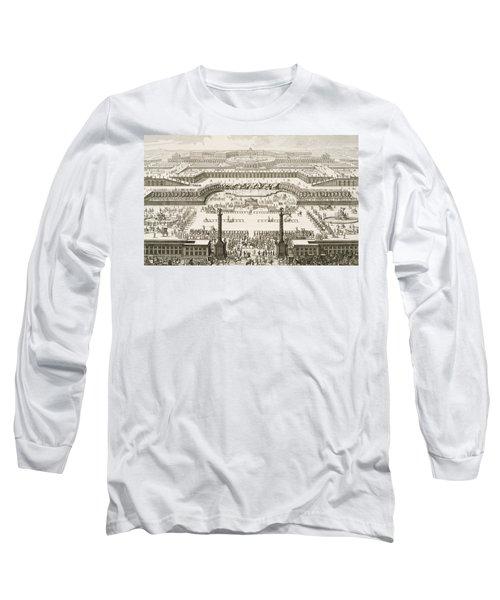 Schonbrunn Palace In Vienna Long Sleeve T-Shirt