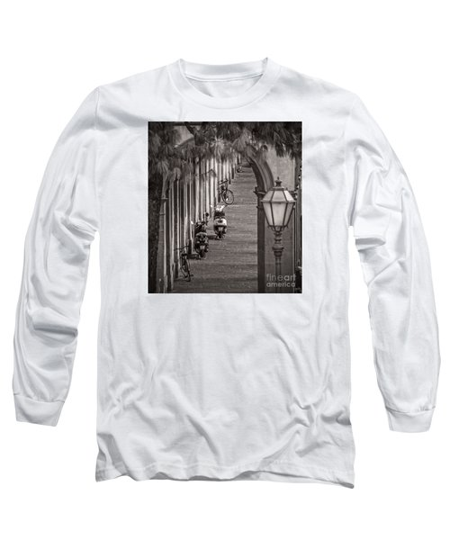 Scooters And Bikes Long Sleeve T-Shirt