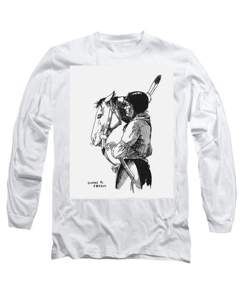 Scout Long Sleeve T-Shirt by Duane R Probus