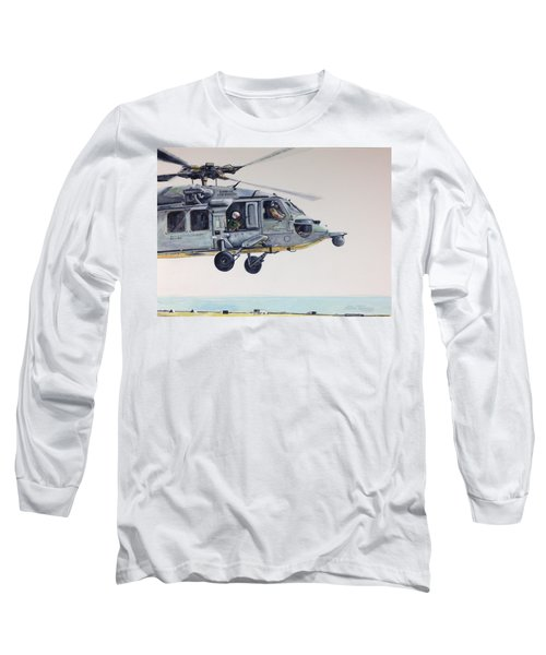 Sea Hawk Long Sleeve T-Shirt by Stan Tenney