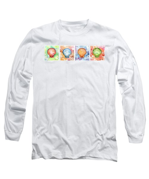 Sea Shells In Contrast Long Sleeve T-Shirt