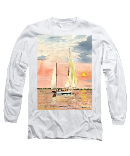 Sea Star Long Sleeve T-Shirt by Melly Terpening