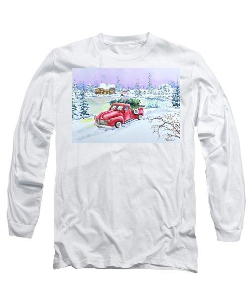 Winter Season Long Sleeve T-Shirt