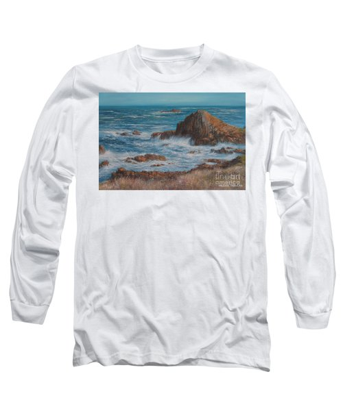 Seaspray Long Sleeve T-Shirt by Valerie Travers