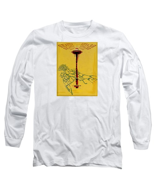 Seattle Calling Long Sleeve T-Shirt by Sandstone Inc