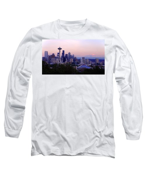 Seattle Dawning Long Sleeve T-Shirt