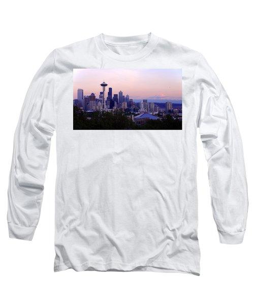 Seattle Dawning Long Sleeve T-Shirt