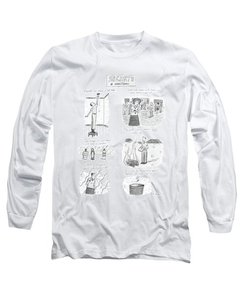 Secrets Of Adulthood Long Sleeve T-Shirt