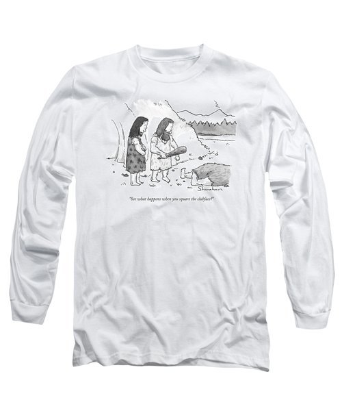 See What Happens When You Square The Clubface? Long Sleeve T-Shirt