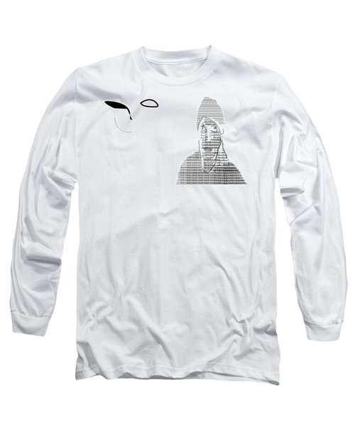 Self Portrait In Text Long Sleeve T-Shirt