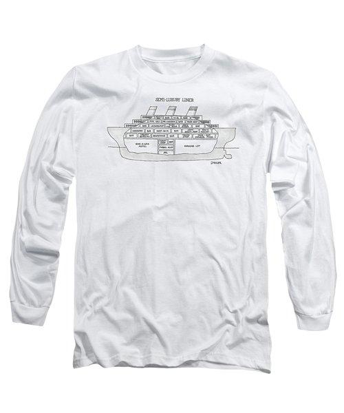 Semi-luxury Liner Long Sleeve T-Shirt
