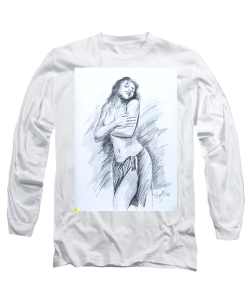 Semi Nude Long Sleeve T-Shirt