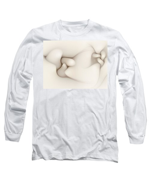 Long Sleeve T-Shirt featuring the digital art Sensual Manifestations 4 by Casey Kotas
