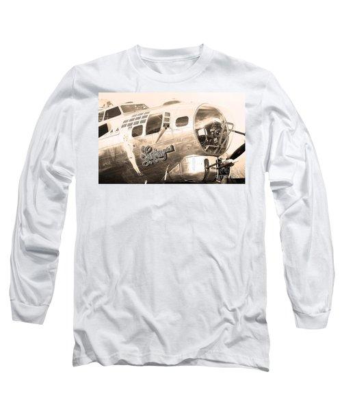 Sentimental Journey Long Sleeve T-Shirt by Steven Reed