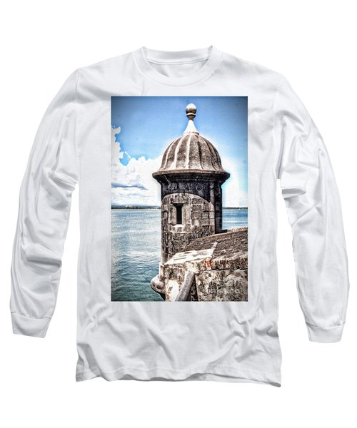 Sentry Box In El Morro Hdr Long Sleeve T-Shirt
