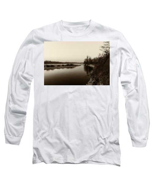 Sepia River Long Sleeve T-Shirt