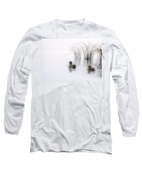 Serene Moments Long Sleeve T-Shirt by Karol Livote