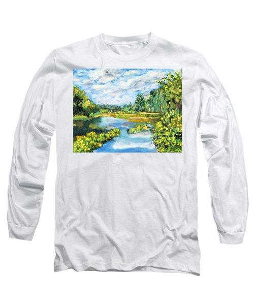 Serene Pond Long Sleeve T-Shirt