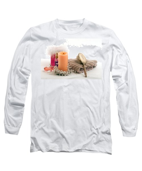 Long Sleeve T-Shirt featuring the photograph Serenity by Gunter Nezhoda