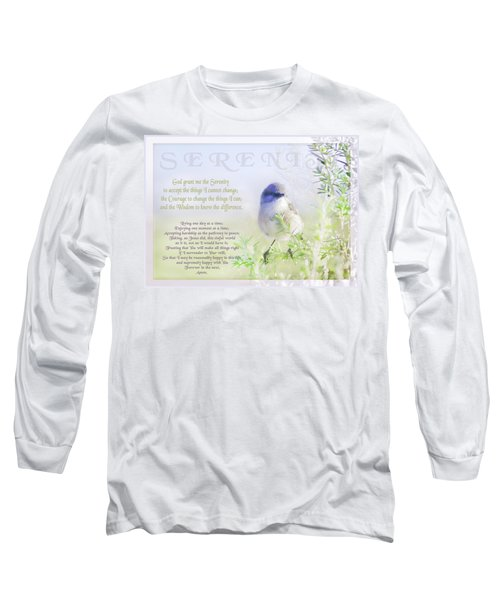 Serenity Prayer Long Sleeve T-Shirt