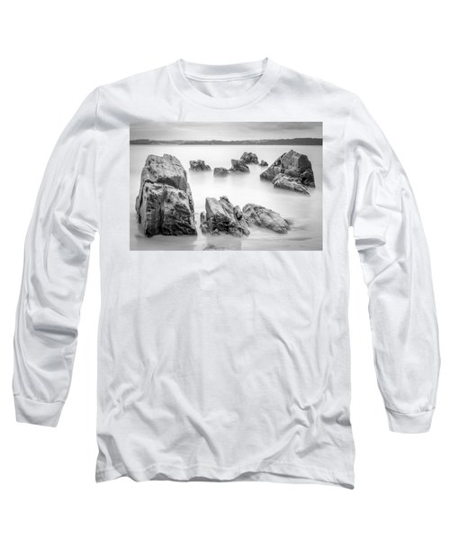 Long Sleeve T-Shirt featuring the photograph Seselle Beach Galicia Spain by Pablo Avanzini