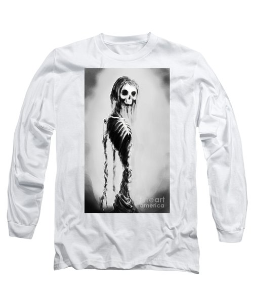 Sexy Bones Long Sleeve T-Shirt by Tbone Oliver