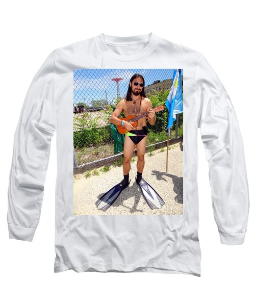 Sexy In Flippers Long Sleeve T-Shirt