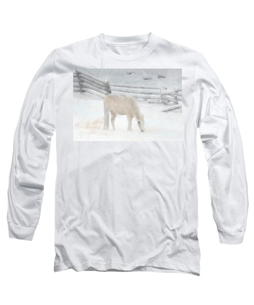 Shades Of Pale Long Sleeve T-Shirt by Ed Hall