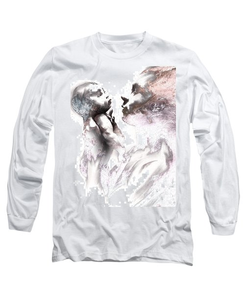 Shadowtwister Reflections Textured Long Sleeve T-Shirt by Paul Davenport