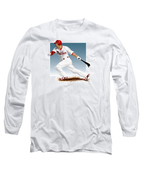 Shane Victorino Long Sleeve T-Shirt