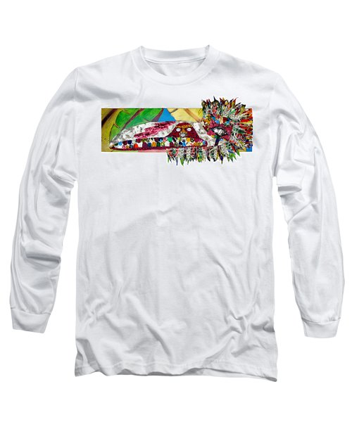 Shango Firebird Long Sleeve T-Shirt by Apanaki Temitayo M
