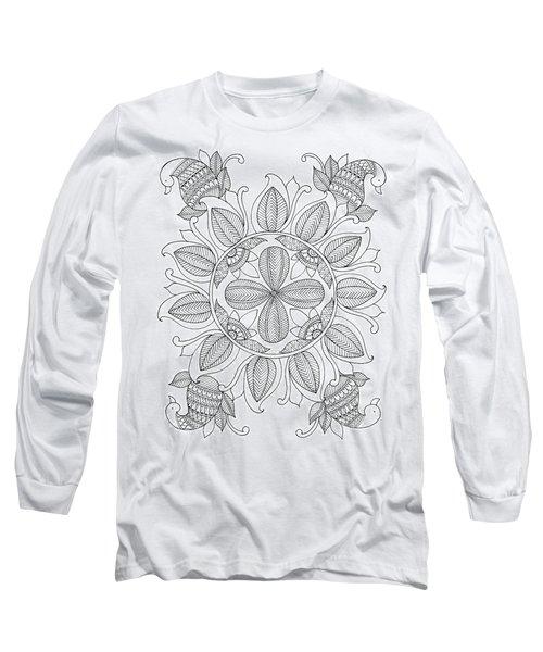 Shape Pattern 12 Long Sleeve T-Shirt