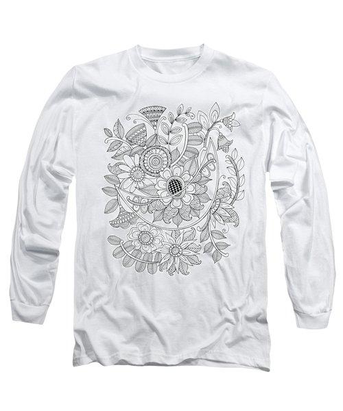 Shape Pattern 6 Long Sleeve T-Shirt