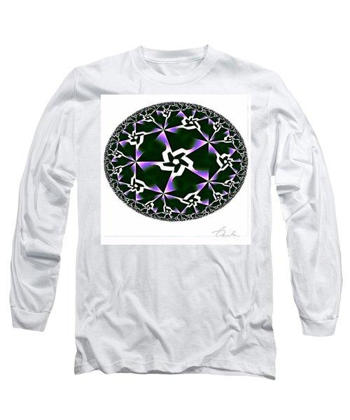 Shards Of Twiliths Long Sleeve T-Shirt by Danuta Bennett