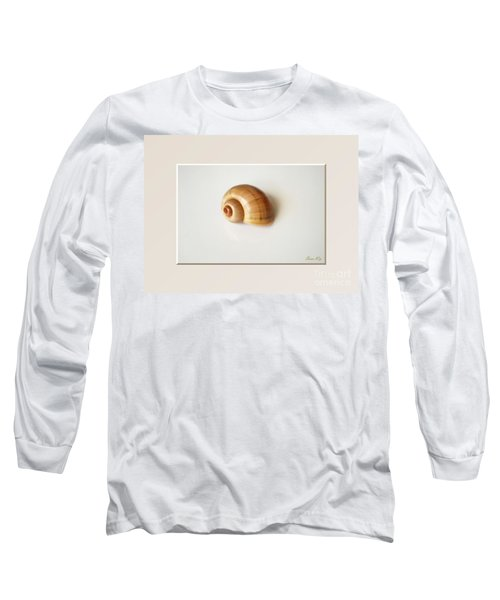 Shell. Delicate Colors Long Sleeve T-Shirt