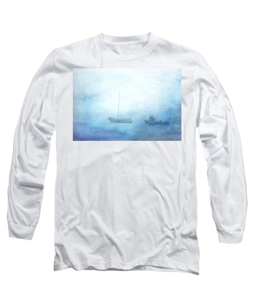 Ships In The Morning Haze  Long Sleeve T-Shirt