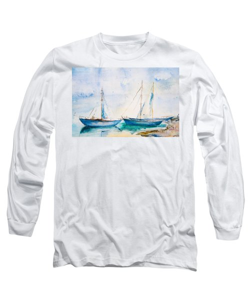 Ships In The Sea Long Sleeve T-Shirt