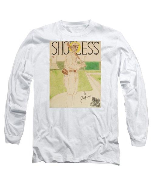 Shoeless Joe Jackson Long Sleeve T-Shirt by Rand Swift