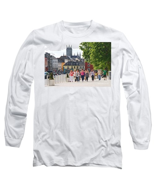 Long Sleeve T-Shirt featuring the photograph Shopping Trip by Mary Carol Story