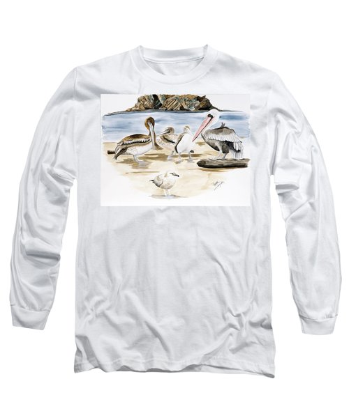 Shore Birds Long Sleeve T-Shirt