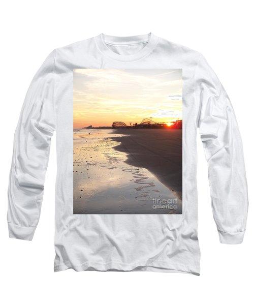 Shoreline Sunset Long Sleeve T-Shirt