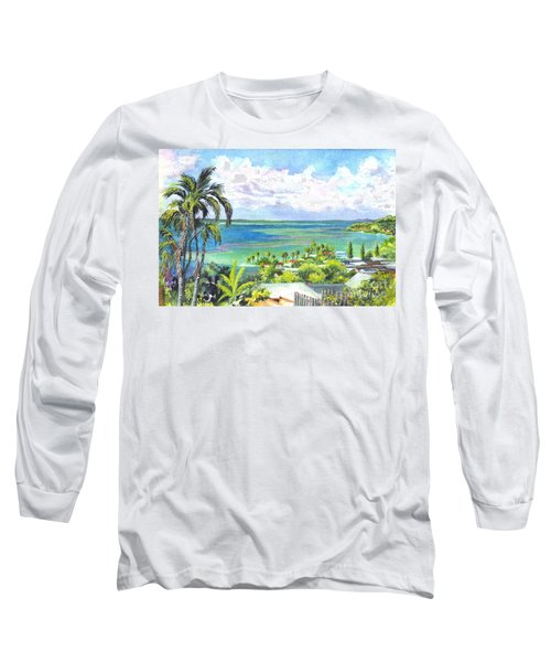 Shores Of Oahu Long Sleeve T-Shirt