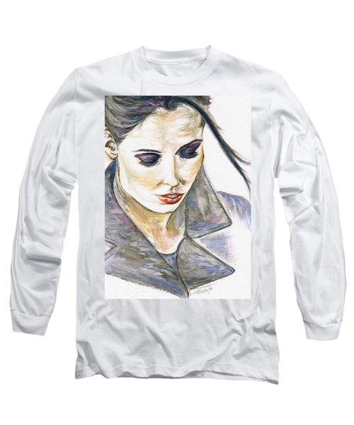 Shy Lady Long Sleeve T-Shirt