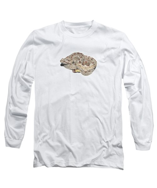 Sidewinder Long Sleeve T-Shirt by Cindy Hitchcock