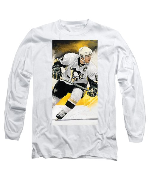 Sidney Crosby Artwork Long Sleeve T-Shirt