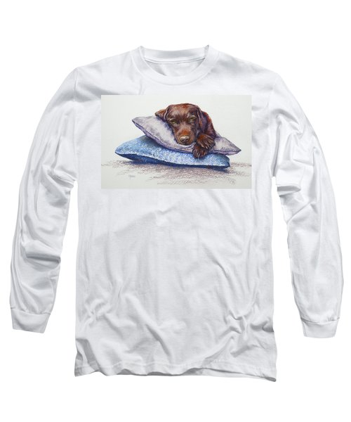 Long Sleeve T-Shirt featuring the painting Siesta by Cynthia House