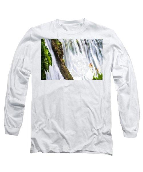 Silk Ribbons Long Sleeve T-Shirt