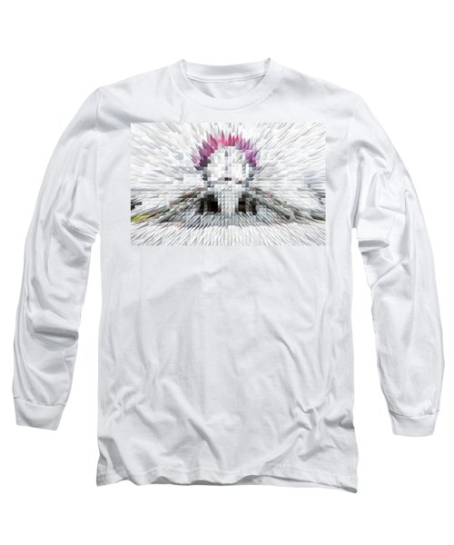 Silver Cotton Candy Long Sleeve T-Shirt