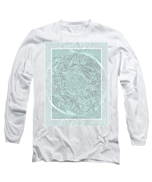 Long Sleeve T-Shirt featuring the photograph Silver Ring by Oksana Semenchenko