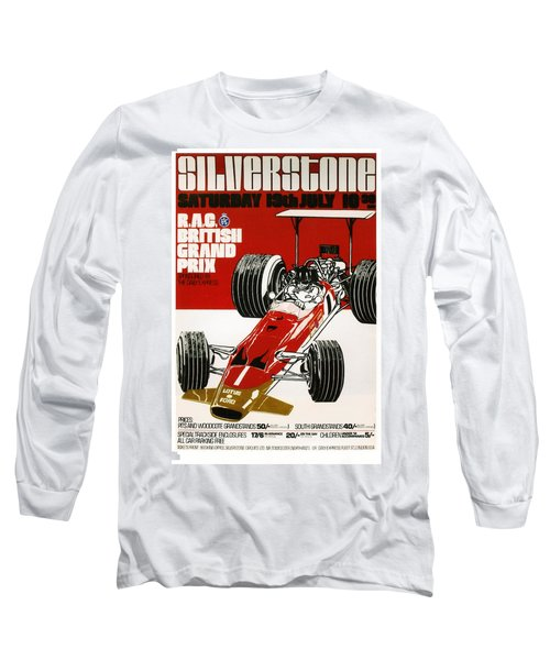 Silverstone Grand Prix 1969 Long Sleeve T-Shirt